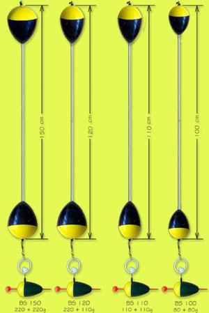 Bubeník Bójka na lov sumců BS 150cm