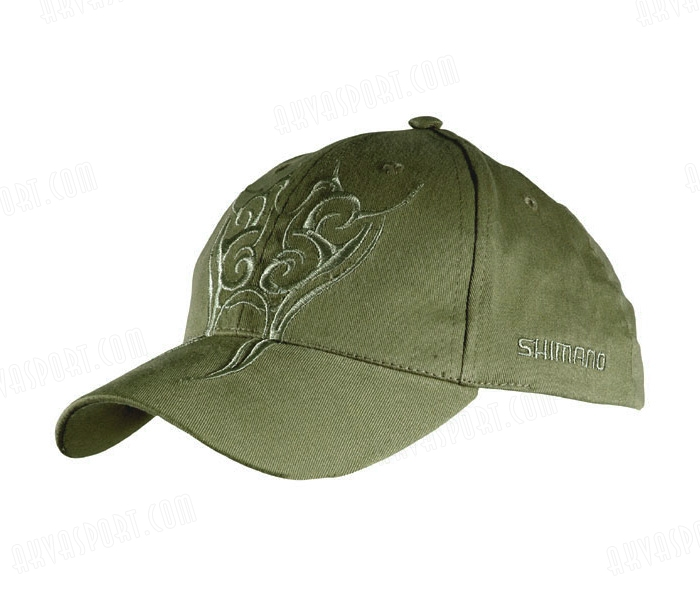 Shimano Čepice Tribal Embroidered Cap - kšilt