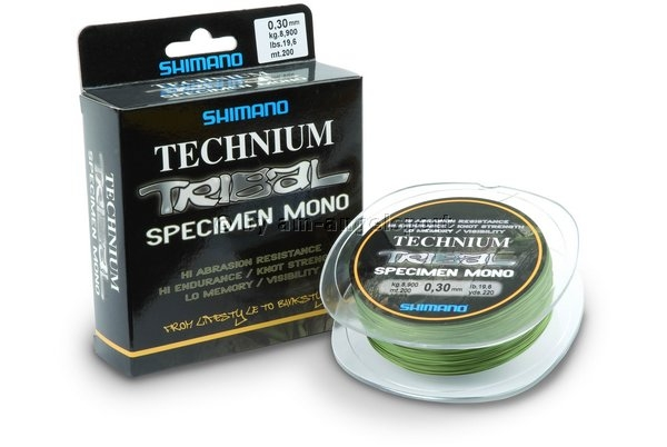 Shimano Vlasec TECHNIUM TRIBAL 200m / 0,40 mm