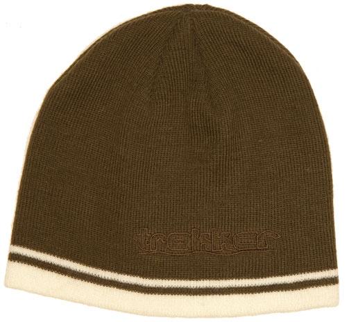 Trakker Čepice pletená Wool Cap+Stripe DK olive