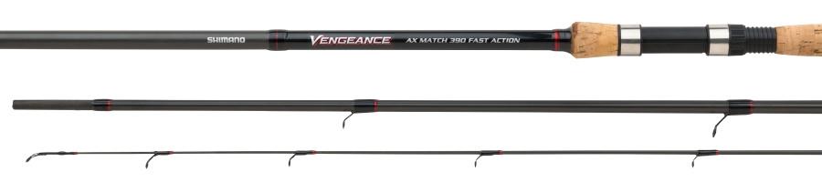 Shimano Prut - Vengeance AX Match 390 F