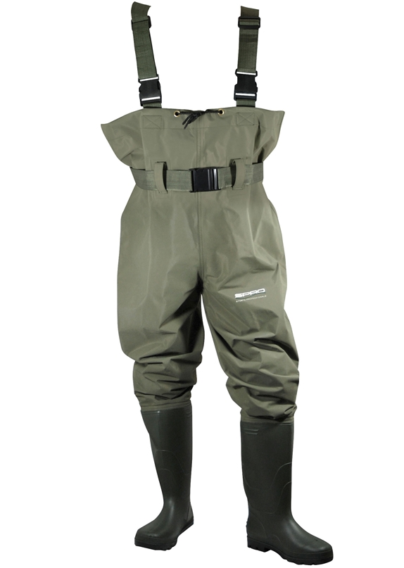 SPRO prsačky  PVC CHEST WADERS SIZE 45