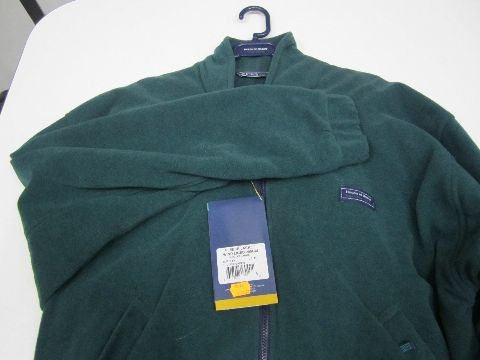 HARDY  fleece jacket green