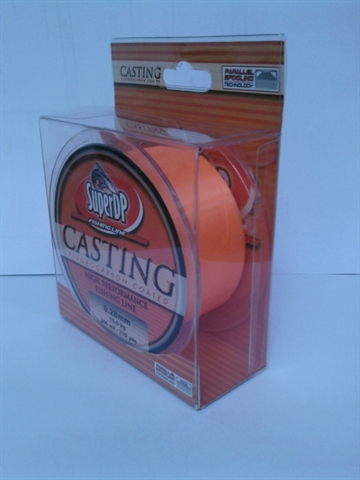 Super DP Vlasec SuperDP CASTING 300 m orange 0,14 mm