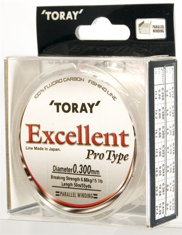 Toray Vlasec  EXCELLENT  FLUOROCARBON 0,156 mm