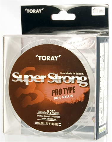 Toray Vlasec  SUP. STRONG 0,195 mm/150m oliv.zel.